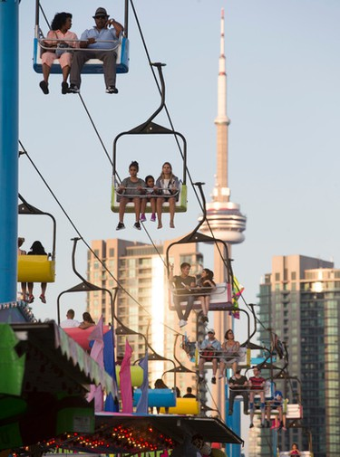 Opening Day at the 138th edition of the CNE on Saturday August 20, 2016. Jack Boland/Toronto Sun/Postmedia Network