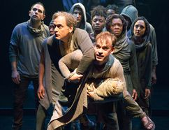 Members of the company in a scene from The Aeneid. (DAVID HOU/Stratford Festival)