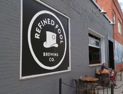 The original Davis Street location for the Refined Fool craft brewery is show on Monday August 22, 2016 in Sarnia, Ont. (Paul Morden/Sarnia Observer)