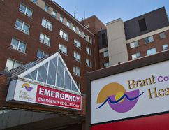 Brantford General Hospital is getting funding to help patients get quicker access to care in its emergency room. (Brian Thompson/The Expositor)