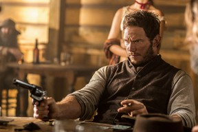 """Chris Pratt appears in a scene from """"The Magnificent Seven."""""""