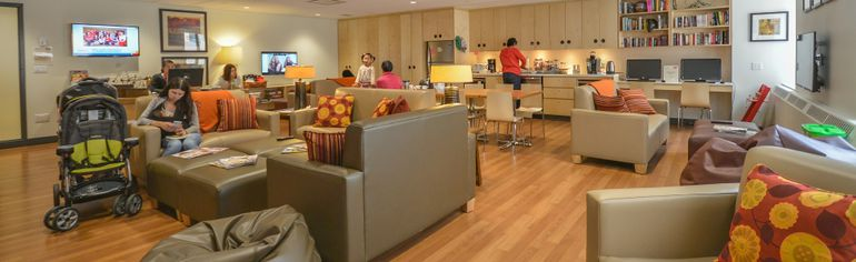 Supplied photo A Ronald McDonald House Charities Family Room, similar to this one at Sick Children's Hospital, is being constructed at Health Sciences North.