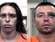 """These Aug. 25, 2016 booking photos provided by the Metropolitan Detention Center show Michelle Martens, left and Fabian Gonzales. New Mexico Gov. Susana Martinez says what happened to the little girl """"is unspeakable and justice should come down like a hammer"""" on whoever is responsible. (Metropolitan Detention Center via AP)"""
