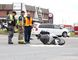 <p>Greater Sudbury Police, Fire Services and EMS were on the scene of a collision involving a van and motorcycle on Regent Street in Sudbury, Ont. on Wednesday August 24, 2016.  Regent Street from Caswell Drive to Paris Street was closed to vehicular and pedestrian traffic for a few hours.  The 52-year-old male motorcycle operator received serious injuries. He is currently in stable condition. The collision remains under investigation as police continue to interview witnesses. Gino Donato/Sudbury Star/Postmedia Network