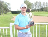 Kalen Zary claimed the Melfort Junior Open title on Thursday, August 25 at the Melfort Golf and Country Club.