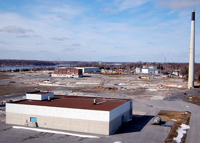 <p>The former Domtar site, as seen in this March 2011 file photo, was sold to Paris Holdings.</p><p>