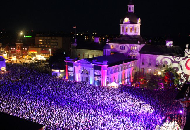 The Tragically Hip show in Kingston on Aug. 20. (Steph Crosier/The Whig-Standard)