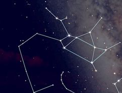 Two depictions of the constellation Sagittarius. Diagram c/o Starry Night Education