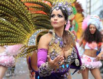 Colourful costumes at 2016 London Notting Hill Carnival_1