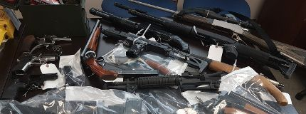 Stolen items, drugs, guns recovered
