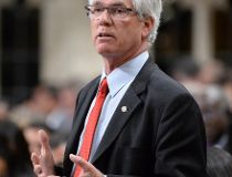 Natural Resources Minister Jim Carr