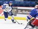 Gino Donato/Sudbury Star file photo Sudbury Wolves player Michael Pezzetta makes a drive for the net during OHL action against the Kitchener Rangers at the Sudbury Community Arena on Oct. 2.