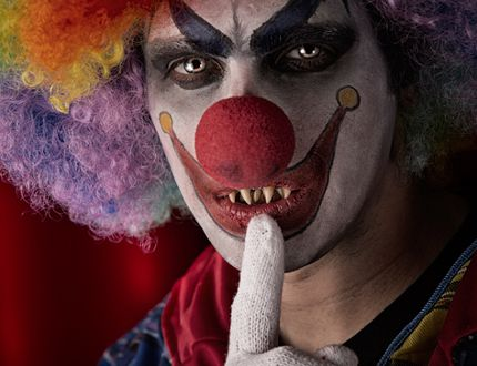 File photo of a clown. (Getty Images)