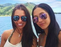 Melina Roberge (left), Isabelle Lagace (seen here in an Instagram photo) and one other Canadian were arrested in Australia after authorities discovered over $30 million worth of cocaine on the cruise ship they were on. Handout/Postmedia Network