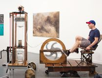 The Durham Art Gallery will host The Aqua Lauta Event on Sept. 11. The event will feature Christopher's McLeod's power-pedaled sculpture which contains an internal water purification system. (Submitted photo)