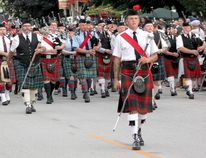 The 25th Kincardine Scottish Pipe Band Gathering of the Bands saw thousands of people visit Victoria Park on Aug. 27, 2016, and many more march in the Mass Band Saturday night. The event is a thank you to the public for supporting the Kincardine Scottish in its 108th year on the street. (Troy Patterson/Kincardine News/Postmedia)