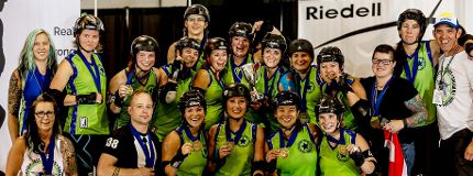 t Calgary's All Stars roller derby squad