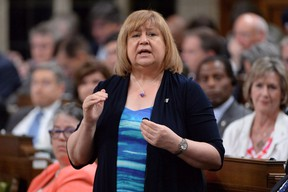 Minister of Employment, Workforce Development and Labour MaryAnn Mihychuk answers a question during Question Period in the House of Commons on Parliament Hill in Ottawa on Tuesday, June 14, 2016. The federal government would prefer a proactive approach to ensuring that men and women get equal pay for work of equal value, a newly released memo suggests, but officials expressed some caution over how much it could accomplish.THE CANADIAN PRESS/Adrian Wyld
