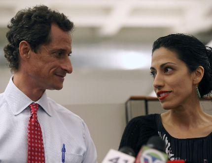 24 Hours' Sabrina Maddeaux thinks we should get over the fact people send nude photos to each other ... all the time. Just like Anthony Weiner, whose estranged wife, Huma Abedin has paid a heavy price for his hijinks. GETTY