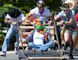 Algoma University students participate in a bed race in September 2011. (Sault Star File Photo)