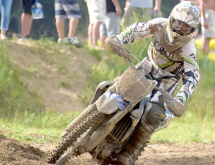 Waterford's Hayden Halstead, 21, had a strong finish to the 2016 season to help him place 8th overall in the MX 2 class in the Rockstar Energy Drink Motocross Nationals. Chris Abbott/Tillsonburg News file photo