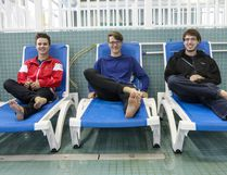 Austin Jerke, Levi Peek, and Tyler Bailer will be heading to the Netherlands to compete in the World Lifesaving Championships Sept. 1-18.