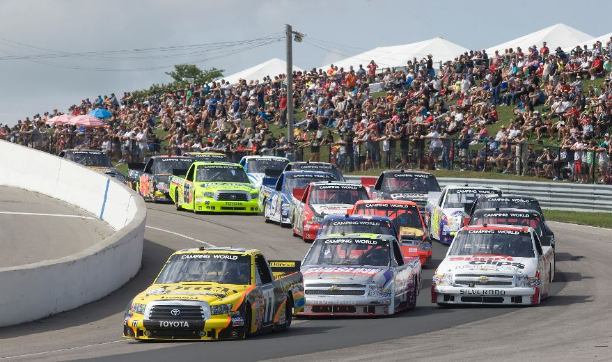 Canadian Drivers Bring Double Trouble To Nascar Race At
