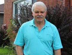 Gerry McBain, 68, will be walking in the Parkinson SuperWalk next weekend to help support research around the disease he lives with. Kirsten Fenn/Cornwall Standard-Freeholder/Postmedia Network