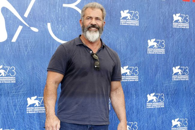Mel Gibson attending the photocall for 'Hacksaw Ridge' at Palazzo del Casino, during the 73rd Venice Film Festival in Venice, Italy. on September 4, 2016 (Dave Bedrosian/Future Image/WENN.com)