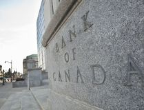 The Bank of Canada building in Ottawa on April 12, 2011. (GEOFF ROBINS/AFP/Getty Images)