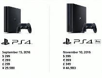 PlayStation 4 Slim and PS4 Pro