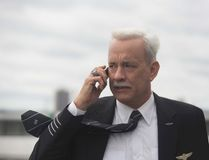 "This image released by Warner Bros. Pictures shows Tom Hanks in a scene from the film, ""Sully."" (Handout photo)"