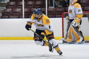 The Sarnia Sting have signed 2016 draft pick Braden Henderson. The Baxter, Ont. native was selected in the sixth round from the Barrie Jr. Colts. Handout/Sarnia Observer/Postmedia Network