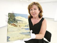 Virginia Eichhorn, director and chief curator at the Tom Thomson Art Gallery in a Sun Times file photo.