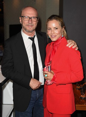Paul Haggis and Maria Bello (Images courtesy of The ONE Group / Photos by Ernesto DiStefano)
