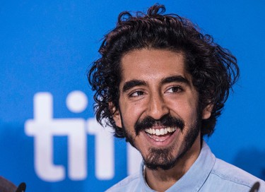 """Dev Patel at the press conference for the movie """"Lion"""" during the Toronto International Film Festival in Toronto on Sunday September 11, 2016. (Craig Robertson/Postmedia Network)"""