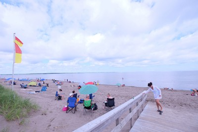 The beach at Shediac is one of the finest in Canada, with warm water and lots of places to spread out. JIM BYERS/Special to Postmedia Network