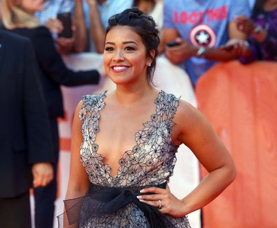 Gina Rodriguez on the red carpet for Deepwater Horizon during the Toronto International Film Festival in Toronto on Tuesday September 13, 2016. (Dave Abel/Postmedia Network)