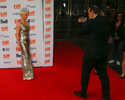 Michelle Williams arrives at the premiere of Manchester by the Sea during the Toronto International Film Festival 2016 in Toronto on Tuesday September 13, 2016. Jack Boland/Toronto Sun/Postmedia Network