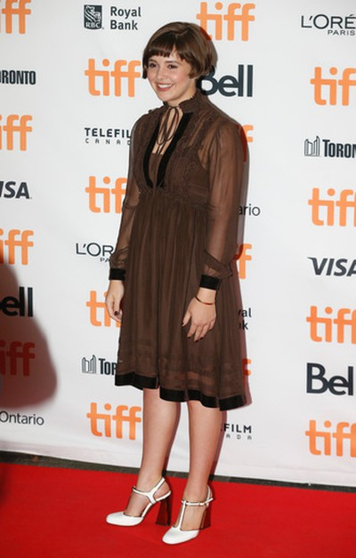Victoria Bruno on the red carpet  at the premiere of Wakefield during the Toronto International Film Festival 2016 in Toronto on Tuesday September 13, 2016. Jack Boland/Toronto Sun/Postmedia Network