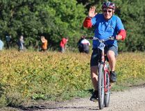 Peter Reimer - Carman Cruisers - Carman. Head for the HIlls, a fundraiser for Eden Foundation held the 14th annual event September 10, 2016 near Morden. A total of 221 cyclists raised more than $152,000 for a record event. (GREG VANDERMEULEN/Morden Times)