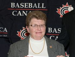Longtime baseball executive Linda Lewis is part of the Chatham Sports Hall of Fame's Class of 2016. (Baseball Canada Photo)