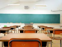 A school classroom is pictured in this file photo. (maroke/Getty Images)