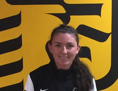 Cambrian Golden Shield women's soccer team member Tiffany Johnson was named OCAA athlete of the week this week after scoring 10 goals in two games last weekend. The talented Johnson is now 12 goals away from the OCAA record.