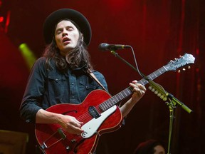 James Bay on the City Stage on day 1 of the annual CityFolk Festival at Lansdowne Park. Wayne Cuddington/ Postmedia WAYNE CUDDINGTON / POSTMEDIA