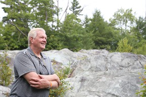 Gino Donato/Sudbury Star Harry Barr, chairman and CEO of Pacific North West Capital Corp., at the company's River Valley PGM deposit in River Valley, east of Sudbury.