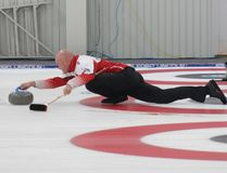 Kevin Koe on the way to victory. Lois Ann Baker/Cornwall Standard-Freeholder