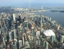 helicopter tour of Toronto