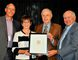 RVH Foundation chairman David McCullough, RVH president and CEO Janice Skot, Lloyd Lawrence and David Blenkarn. SUBMITTED