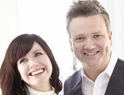 Keith and Kristyn Getty will perorm at Maranatha Christian Reformed Church on Sunday, October 2. Submitted photo